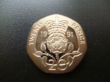 1991 PROOF 20P COIN HOUSED IN A NEW CAPSULE, 1991 PROOF TWENTY PENCE PIECE.