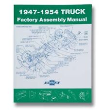 04611 Classic Chevy Truck Factory Assembly Manual 1947-54