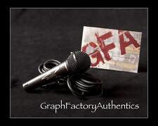 Conor Maynard *VEGAS GIRL* Signed R31S Microphone M1 COA GFA PROOF!