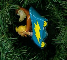 Animaniacs Buttons and Mindy roller coaster custom Christmas tree ornament