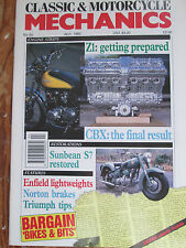 Classic Motorcycle Mechanics Sunbeam S7 Restored; Making Counterbores