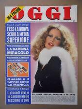 OGGI n°13 1973 Brigitte Bardot Testi e piccoli Zecchino D'Oro  [C40]