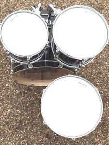 RockSolid Coated Drum Head Skin Tom Packs