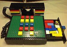 Vintage LEGO TYCO Telephone Retro 1980s Land Line Touch Tone Phone w/ LEGOS