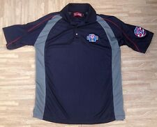 USA Sevens Rugby CRC College Championships Polo Shirt ~ Men's Large L ~ Blue