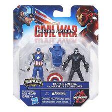 Capitan America 3 -Coppia Personaggi 7cm Capitan America vs Crossbones- Hasbro