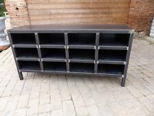 Meuble industriel sur mesure mètal meuble d'atelier 12 cases