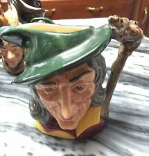 "Vintage Royal Doulton Toby Jug Pied Piper Small 4 1/4"" Tall. Nice!"