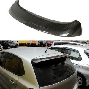 Carbon Dach Spoiler Heckspoiler HeckLippe Flügel für Volkswagen Polo 6R 2013-17