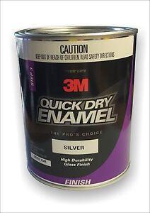 3M Quick Dry Enamel 1Lt Silver