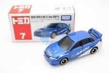 Tomica Takara Tomy #7 SUBARU IMPREZA WRX STI 4Door R4 Scale 1/67 Diecast Toy Car