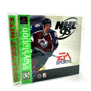 NHL Hockey 98 Greatest Hits | PS1 Playstation Video Game | Complete & Tested