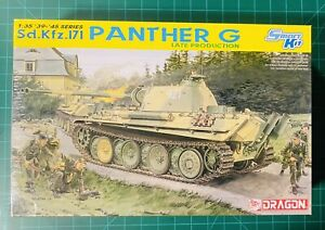 Dragon 6268 1/35 Sd.Kfz.171 Panther G Late Production with DS Tracks ~Sealed ~