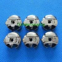 6 Small L Size Pigtail Bobbin Cases fits Singer 20U / 20U33 20U143 Brother B651