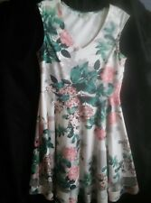 PAPAYA CREAM MULTI FLORAL DRESS 16