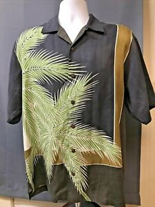 Tommy Bahama Mens Silk Shirt Small Button Up