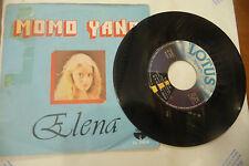 "MOMO YANG""ELENA-disco 45 giri LOTUS Italy 1978"" ITALO DISCO"