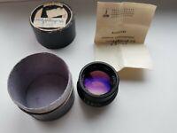 RARE Industar 36 4.5 150mm Soviet Lens Medium Format M39 mount
