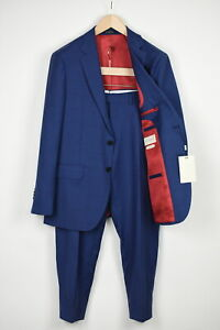RRP $599 SUITSUPPLY SIENNA Men UK40S Pure S130 Wool Checked 2-piece Suit 16260