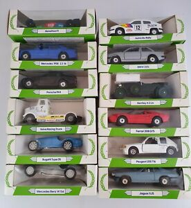 Vintage 1989 Corgi Mobil Performance Car Collection x12 Complete Set or Singles