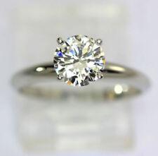 Anillos de joyería con diamantes de platino diamante SI2