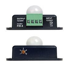 DC 12V 24V 6A PIR Sensor Bewegungsmelder Steuerung Schalter für LED Strip Lampe