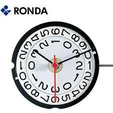 Harley Ronda 519 Quartz Watch Movement, 3 Hands Big Date at 3 (Swiss Parts)  NEW