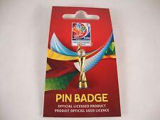 "WM-Pin ""Pokal"" FIFA Women´s World-Cup 2015 Canada tm WC 30mm USA Champion Badge"