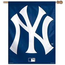 "NEW YORK YANKEES 2ND DESIGN 28""X40"" BANNER FLAG BRAND NEW WINCRAFT"