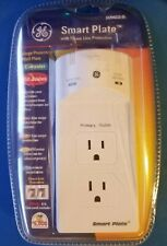 GE Smart Plate - Power and phone line ground surge protection 450 Jules SU940030