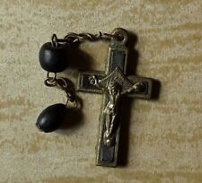croix crucifix bois alu 3x1,8cm  lourdes@Hotmail cross crucifix
