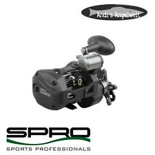 Spro Depth Charge Multirolle mit Tiefenmesser - Angelrolle - Norwegenrolle !