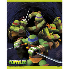 TMNT Teenage Mutant Ninja Turtles Treat Bags Favour Loot Bags (Pack of 8)