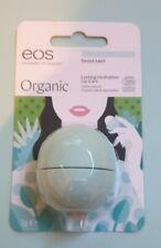 Eos Organic Lip Balm SWEET MINT Lasting Hydration Lip Care 7g Sphere Ball - BNIP