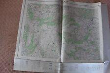 Carte de France 1/25000 Privas n° 7-8. Institut Géographique National. 1957