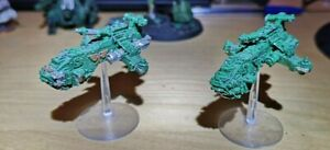 Epic 40k Space Marine Thunderhawks x2 (Metal, no bolters)
