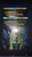 The Jungle Book (Blu-ray/DVD, 2016, Includes Digital Copy)