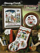 Victorian Village Christmas BK470 by Stoney Creek cross stitch pattern