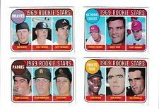 **1969 Topps #637 Padres Rookie Stars BV$5!  No creases, Nice corners**