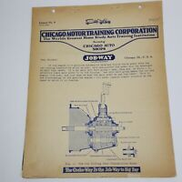 Chicago Motor Training Corporation Lesson No 9 Clutches