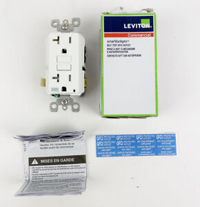 Leviton GFWT2-W Weather/Tamper-Resistant Receptacle w/LED