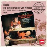 HEGER/WUNDERLICH/FRICK/+- DIE LUSTIGEN WEIBER VON WINDSOR 2 CD OPER NEW! NICOALI