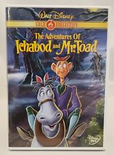 NEW The Adventures of Ichabod and Mr. Toad (DVD, 2000, GOLD Collection Edition)