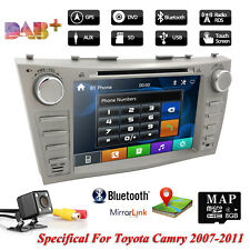 "8"" Car DVD USB Player For Toyota Aurion Camry Stereo Radio Head Unit GPS+Camera"