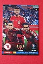 ADRENALYN ROAD TO UEFA EURO 2016 LINE-UP ESPANA 81  MINT!!!!