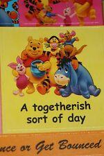 Disney Winnie the Pooh Kids Craft Scrapbooking Stickers Tigger Piglet Eeyore Roo