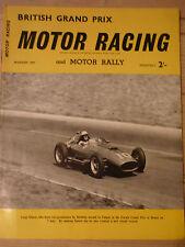 Motor Racing - BRSCC journal - magazine - August 1957