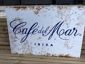 Cafe del Mar Ibiza Vintage Style Metal Sign