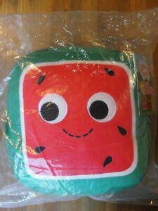 Kidrobot Yummy World KENJI SQUARE WATERMELON Plush