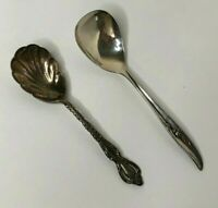 International Silver 1847 Rogers Bros MAGIC ROSE Spoon 1963 & Deep Silver Spoon